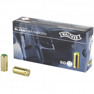 Walther Blank 9mm P.A.K. 50rd Blank