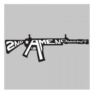 United States Tactical 2nd Amendment Sticker