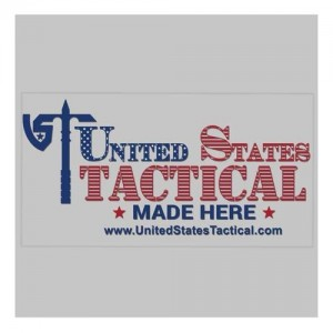 United States Tactical Nested Flag Sticker
