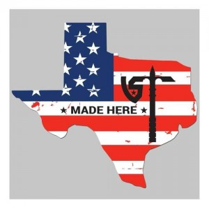 United States Tactical Texas with US Flag & UST Axe Sticker