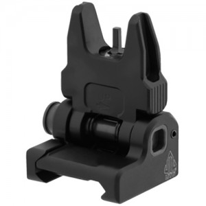 UTG ACCU-SYNC Spring-Loaded AR15 Flip-Up Front Sight