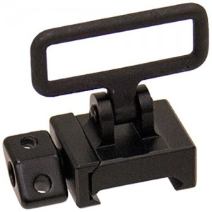 "UTG Picatinny Sling Swivel Mount with 1.25"" Loop"