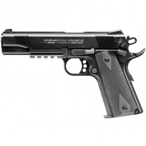 Colt Government 1911 A1 Walther 22 Long Rifle