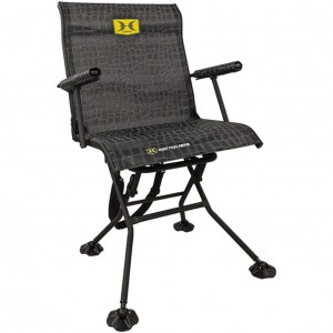 Hawk Bone Collector Stealth Spin Blind Chair