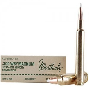 Weatherby Select Plus 300 Weatherby Magnum 20rd Ammo