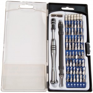 Wheeler 58 Piece Precision Micro Screwdriver Set