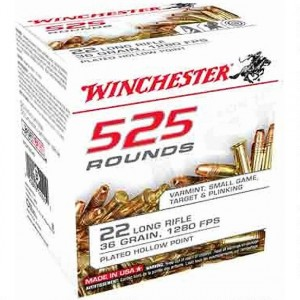 Winchester 525 22 Long Rifle 525rd Ammo