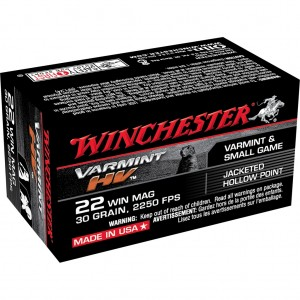 Winchester Varmint HV 22 Winchester Magnum Rimfire 50rd Ammo