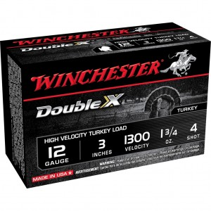 Winchester Double X High Velocity 12 Gauge 4 Shot 10rd Ammo