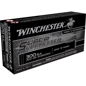 Winchester Super Suppressed 300 Blackout Subsonic 20rd Ammo