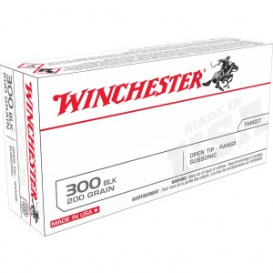 Winchester USA 300 Blackout Subsonic 20rd Ammo