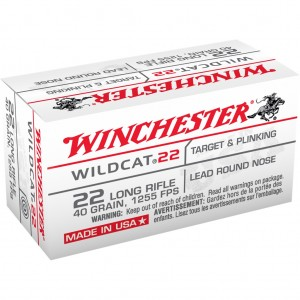 Winchester USA 22 Long Rifle 50rd Ammo