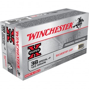 Winchester Super X 38 Special +P 50rd Ammo