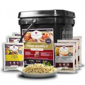 Wise Foods Emergency Freeze Dried Breakfast and Entree Bucke