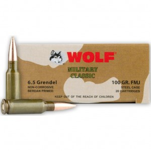 Wolf Military Classic 6.5 Grendel 20rd Ammo