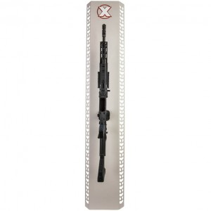 X Products Gun Wall Mount with Raptor Picatinny Mount