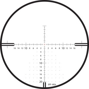 Zeiss 4-16x44 Conquest V4 30mm Rifle Scope