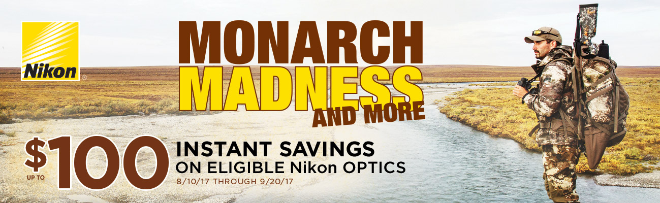 Nikon's Monarch Madness and More 1299X400